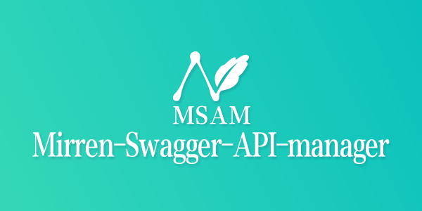 Mirren-Swagger-API-Manager